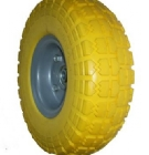 FR3504B   hand cart flat free pu foam wheel tires