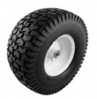 Flat-Free Lawnmower and Cart Tire, 13in. x 6.50