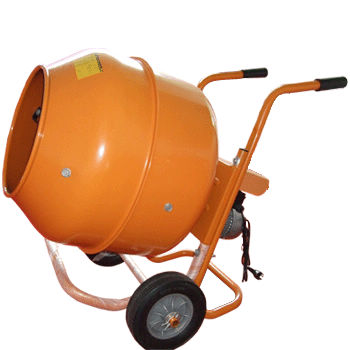 Cement Mixer with Metal Drum