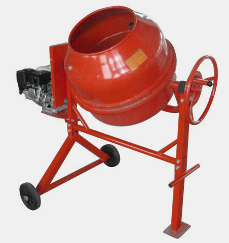 Portable Cement Mixer — 3.5kw Engine