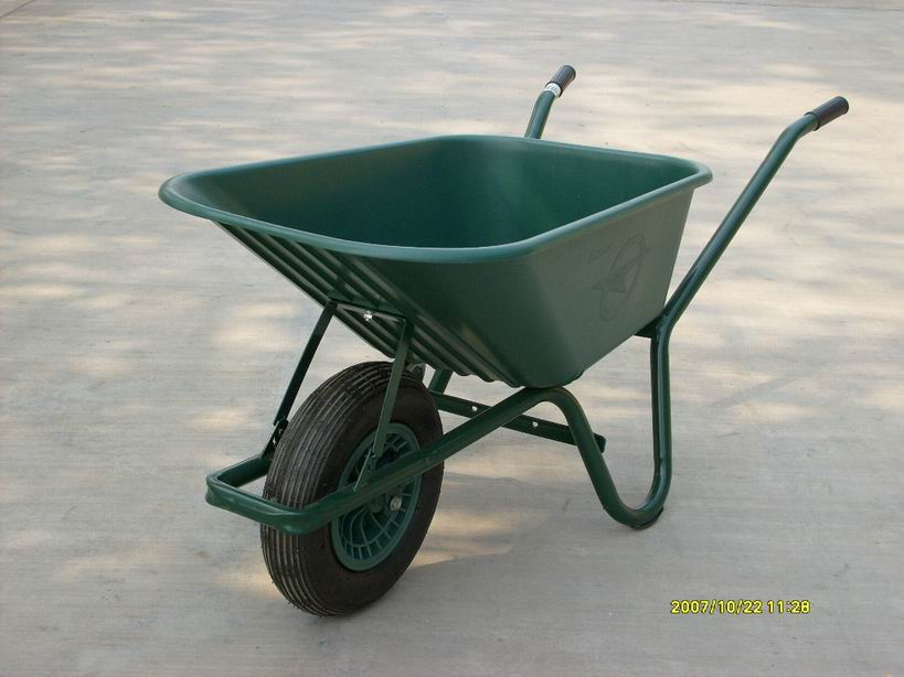 WB6414P  wheelbarrow , Plastic tray