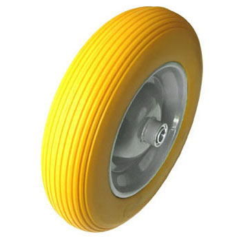FR4008  flat free wheelbarrow wheell tires