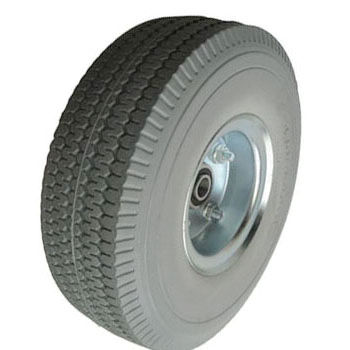 FR3504A  hand cart flat free pu foam wheel tires