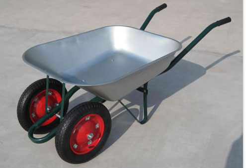 WB6203B wheelbarrows, double wheel barrows