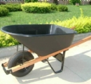 WB6602  heavy duty wheel barrow ,6 cu.ft poly tray
