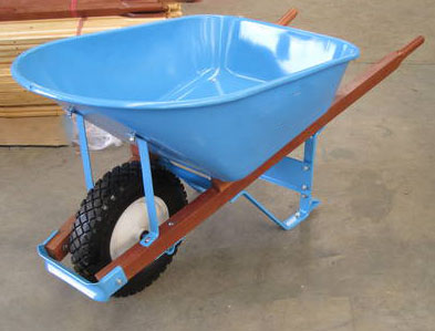 WB7808-1  heavy duty wheelbarrow, 7cu.ft