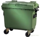 outdoor plastic waste container